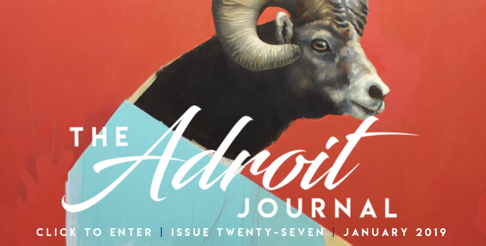 Adroit Journal January 2019 Cover
