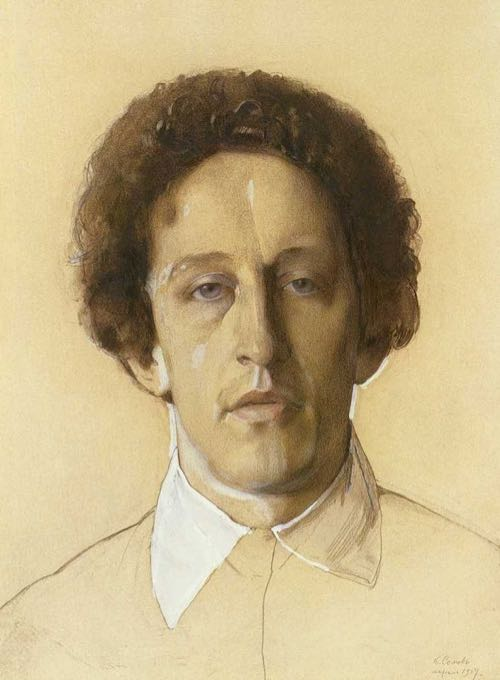 Portrait by Konstantin Somov, 1907