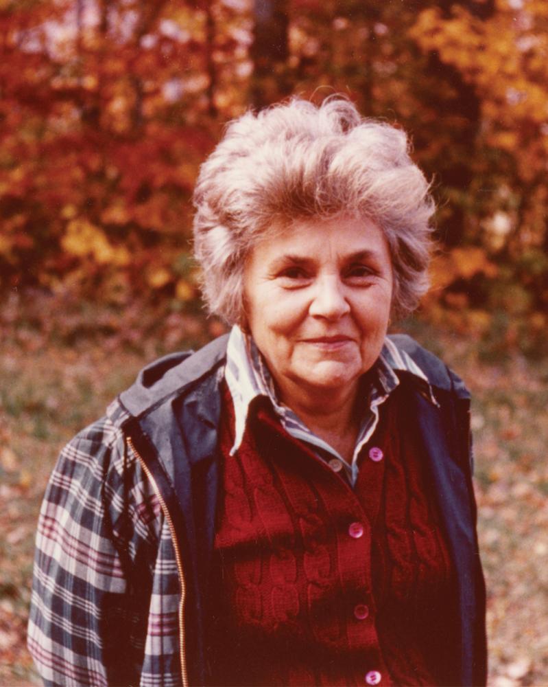 Color photo of Elizabeth Bishop
