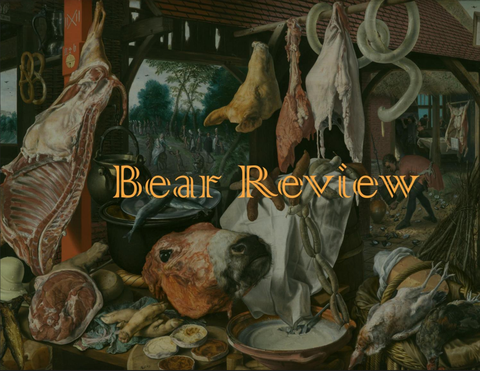 Front Cover of Bear Review 3.2