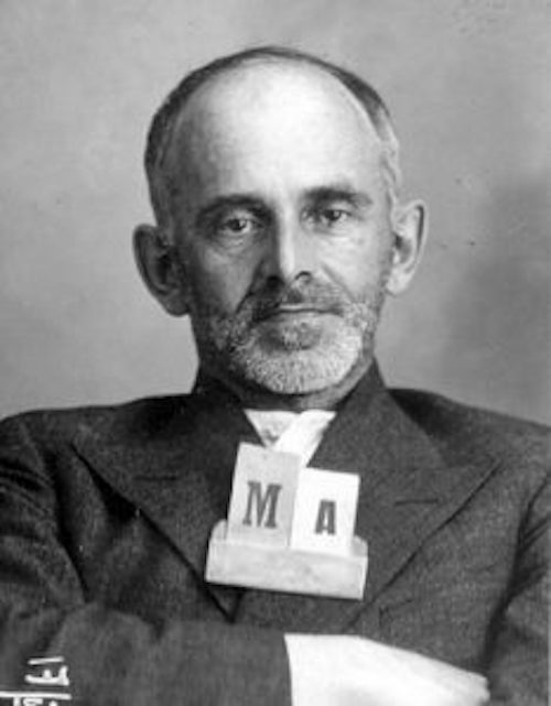 Photo of Osip Mandelstam