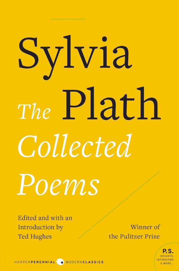 HarperCollins Cover of Sylvia Plath's Collected Poems