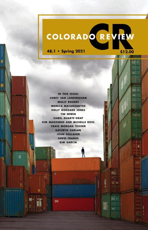 Cover of The Colorado Review Spring 2021