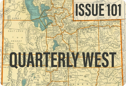 Graphic for Quarterly West Issue 101