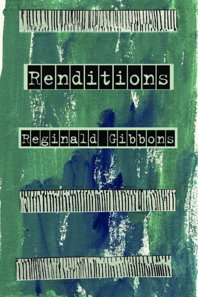 Cover of Reginald Gibbons' RENDITIONS