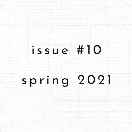Cover of ctrl + v's Spring 2021 Issue