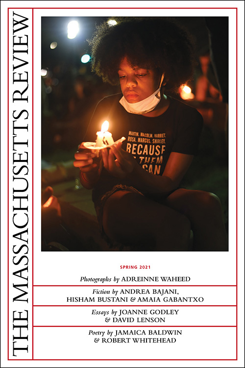 Cover of The Massachusetts Review Spring 2021 Issue
