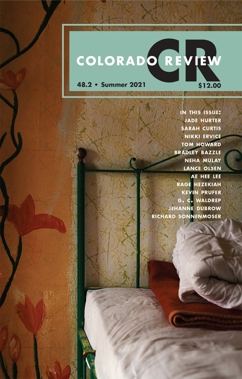 cover of the Colorado Review Summer 2021