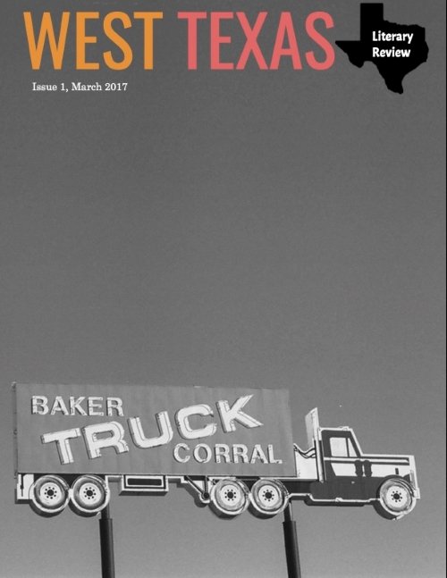 cover of West Texas Literary Review March 2017